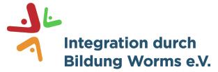 Logo des Vereins Integration durch Bildung Worms e.V.